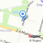 Отдел надзорной деятельности Выборгского района УНДПР на карте Санкт-Петербурга