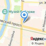 Град-Инвест на карте Санкт-Петербурга