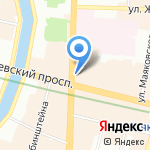 Start2go на карте Санкт-Петербурга