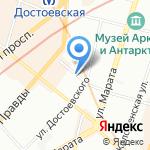 Гомеопатическая фармация на карте Санкт-Петербурга