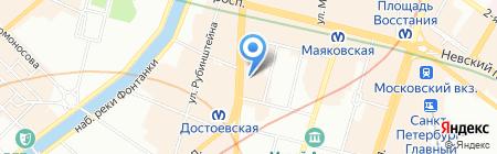 Best-Service на карте Санкт-Петербурга