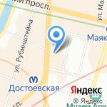Центр Поддержки Бизнеса на карте Санкт-Петербурга