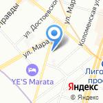 Маленькая страна на карте Санкт-Петербурга
