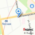 Оптика на карте Санкт-Петербурга