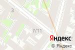 Схема проезда до компании BOSE в Санкт-Петербурге