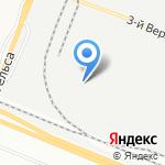 Электронмаш на карте Санкт-Петербурга