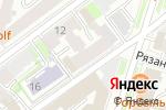 Схема проезда до компании Африка в Санкт-Петербурге