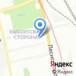 Космополитен на карте Санкт-Петербурга