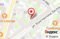 Схема проезда до компании Далекс Продакшнс в Санкт-Петербурге