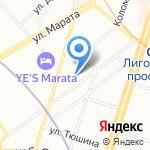 Клуб волшебника на карте Санкт-Петербурга