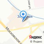 Магазин меха и кожи на карте Санкт-Петербурга