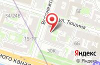 Схема проезда до компании Полиграф-Сп в Санкт-Петербурге