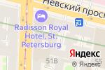 Схема проезда до компании ИСТИНА в Санкт-Петербурге