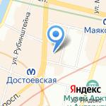 Вилор на карте Санкт-Петербурга