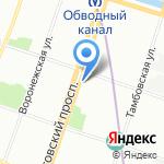ПАТ на карте Санкт-Петербурга