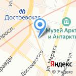Милый доктор на карте Санкт-Петербурга