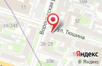 Схема проезда до компании Пожарный Трест-Полиграфия в Санкт-Петербурге