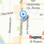 ICON на карте Санкт-Петербурга