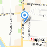 Эпротек на карте Санкт-Петербурга