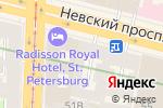 Схема проезда до компании LeШаверма в Санкт-Петербурге