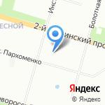 Детская городская поликлиника №11 на карте Санкт-Петербурга