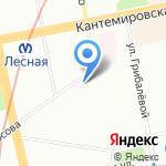 Средняя общеобразовательная школа №123 на карте Санкт-Петербурга