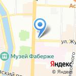 Charme Boutique на карте Санкт-Петербурга