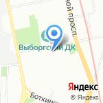 Новый взгляд на карте Санкт-Петербурга