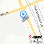 Санкт-Петербургский зональный научно-исследовательский и проектный институт жилищно-гражданских зданий на карте Санкт-Петербурга