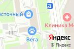 Схема проезда до компании Клеопатра в Санкт-Петербурге