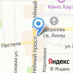 Nova на карте Санкт-Петербурга