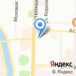 Юсуповское на карте Санкт-Петербурга