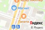 Схема проезда до компании Место встречи в Санкт-Петербурге