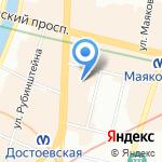 Уральский банк реконструкции и развития на карте Санкт-Петербурга