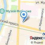 Любимый Петербург на карте Санкт-Петербурга