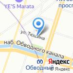 АдвокатПлюс на карте Санкт-Петербурга