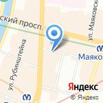 Помощь на карте Санкт-Петербурга