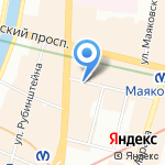 HAYAT на карте Санкт-Петербурга