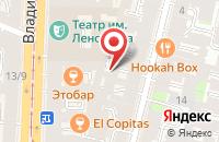 Схема проезда до компании ТерраМедика в Санкт-Петербурге