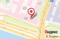 Схема проезда до компании Шип Интерио в Санкт-Петербурге