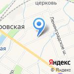 Средняя общеобразовательная школа №462 на карте Санкт-Петербурга