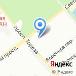 Цветырозторг на карте Санкт-Петербурга