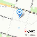 Аспект Северо-Запад на карте Санкт-Петербурга