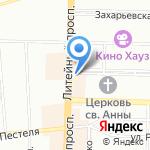 Up & Up Beauty Space на карте Санкт-Петербурга