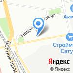 Секвайдер на карте Санкт-Петербурга