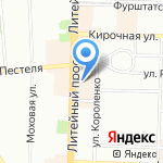 Экспресс Офис на карте Санкт-Петербурга