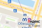 Схема проезда до компании Буквоед в Санкт-Петербурге