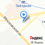 АВТОЛОМБАРД ЛИДЕРФИНАНС на карте Санкт-Петербурга