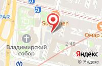 Схема проезда до компании Навигационный Дом в Санкт-Петербурге