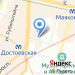 Санкт-Петербургская Центральная коллегия адвокатов на карте Санкт-Петербурга